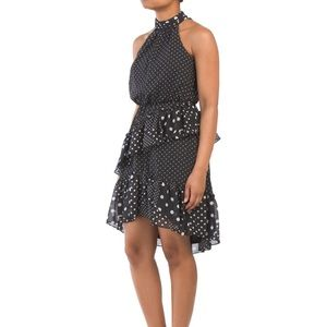 💫Polka Dots Chiffon Dress - Betsy Johnson💫